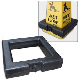 Blow Molded Plastic Square Base Weight Ring Stabilizer Ring Square BP16