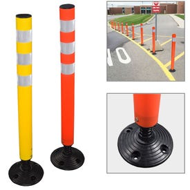 36in. Flexible Delineator Post W/ Reflective Stripes Part No. DP22, DP24, DP26, DP28