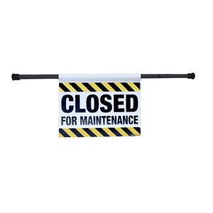 Closed For Maintenance Entry Way Sign EWS06