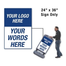 Custom Logo FS300 Sign