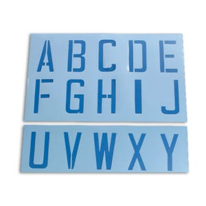 9in Letter Height Alphabet Stencils Kit A to Z Plus Special Characters KIT82