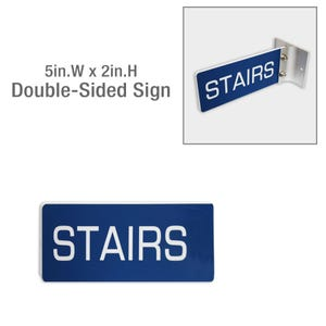 5in x 2in Double Sided Plastic Laser Engraved Custom Signs Room or Door ID MPC52