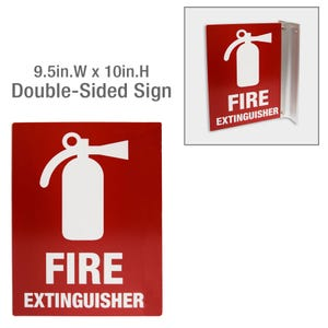 10in Double Sided Plastic Laser Engraved Custom Signs Room or Door ID MPC951