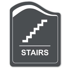 8in. X 10in. Designer Series Stairs Laser Engraved Sign