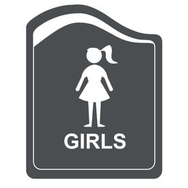 8in. X 10in. Designer Series Girls Laser Engraved Sign