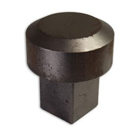 Hardened Steel Square Sign Post Hammer Driver or Post Driver P86