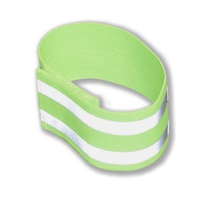 Reflective Elastic Leg or Arm Band Crossing Guard Safety Equipment SC204