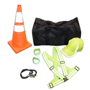 SC48 Reflective Safety Kit With Duffle Bag