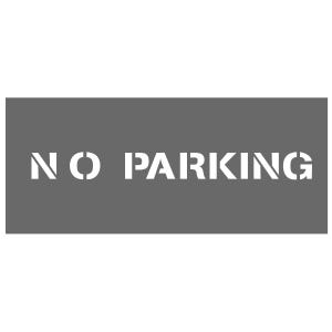 2in. No Parking Stencil