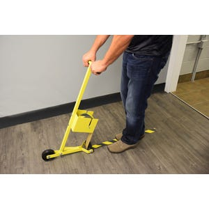 Floor Tape Laying Tool Anti Slip Tape Laying Tool Caution Tape Laying Tool T488